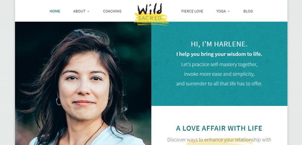 honlap nyitókép Wild Sacred