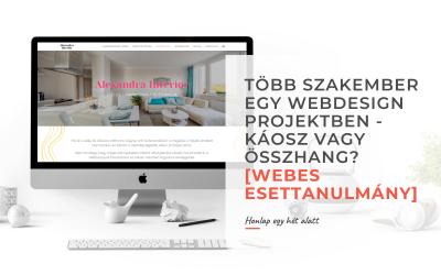 Több szakember egy webdesign projektben – Káosz vagy összhang? [Webes esettanulmány]